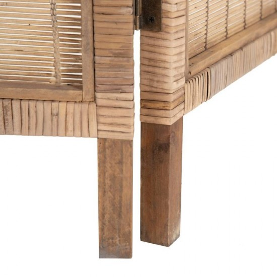 Biombo bambú natural Dades