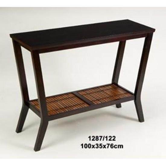 Liquidacion Consola madera nogal colonial Modelo Minang